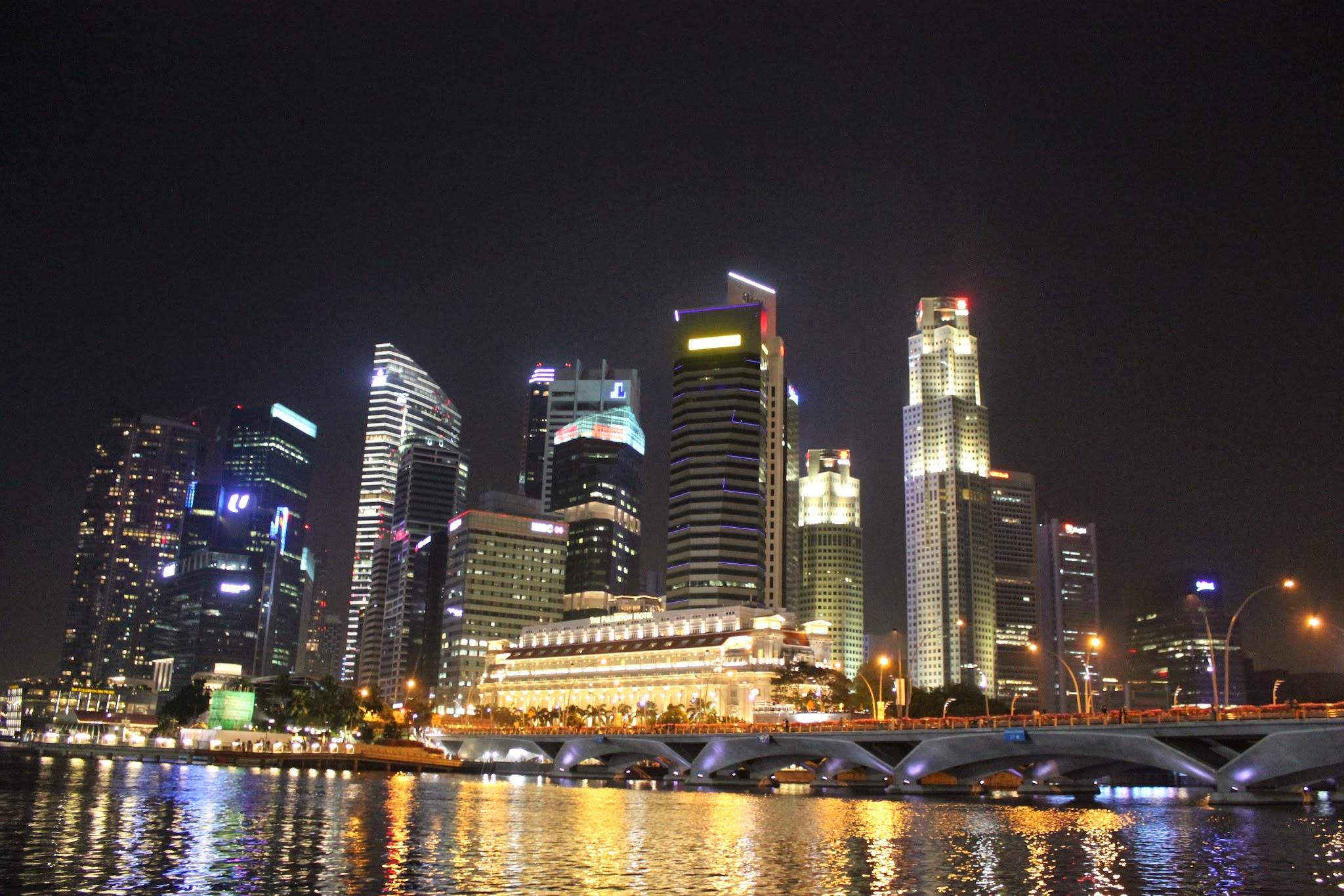 Hành trình Singapore bụi: Tung tăng  vịnh Marina và 2 khu vườn