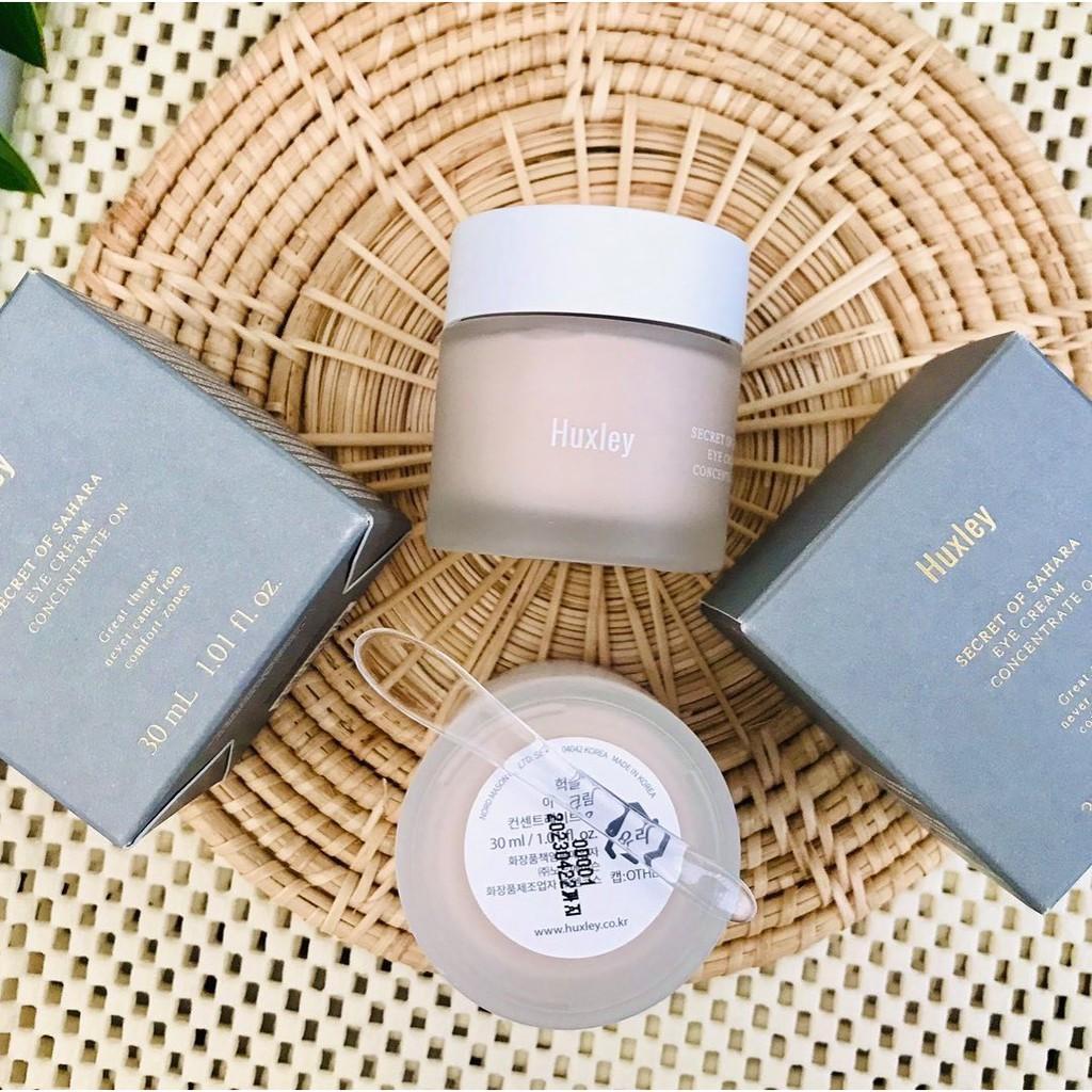 Chính hãng]Kem Dưỡng Mắt Giảm Thâm, Chống Lão Hóa Huxley Eye Cream - Concentrate  On 30ml | Shopee Việt Nam