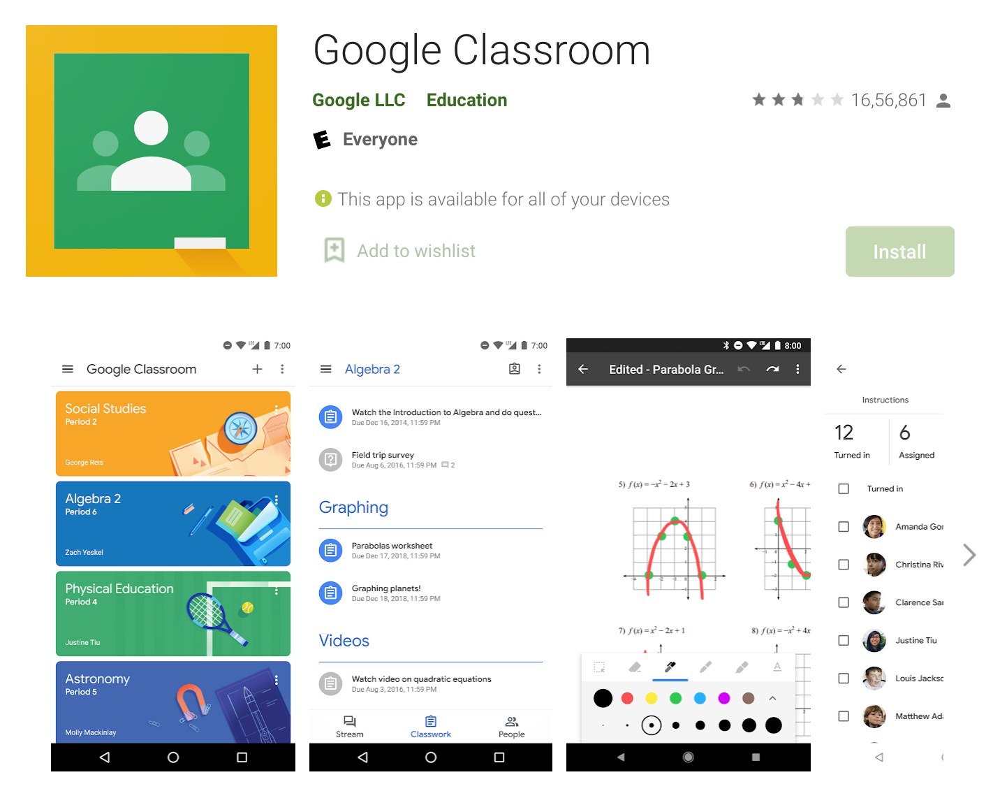 Online teaching apps