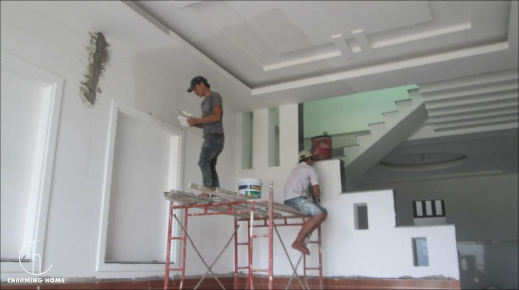 Quy trình sửa chữa nhà chuyên nghiệp