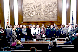 Council Proclamation Honors First Responders