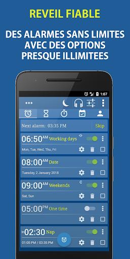 Alarm Plus Millenium: Réveil + Tâches + Contacts– Vignette de la capture d'écran