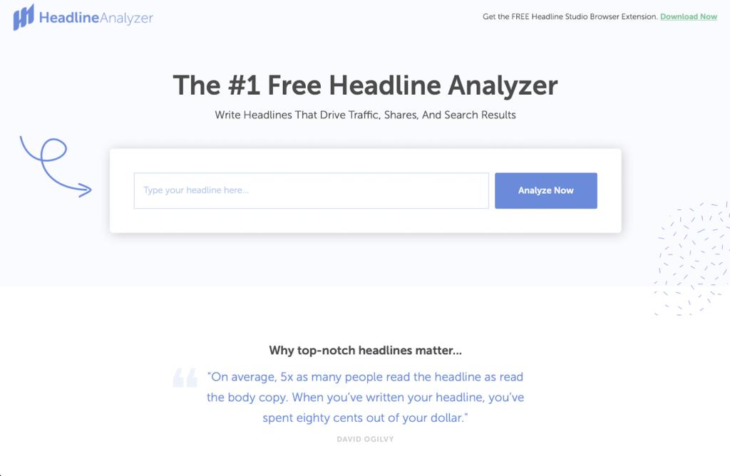 Coschedule Headline Analyser