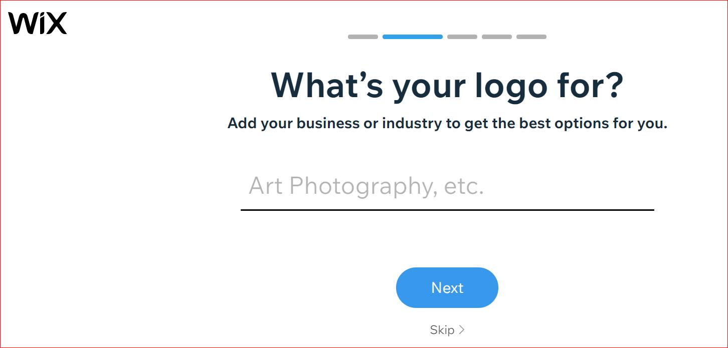Wix logo maker in Nigeria