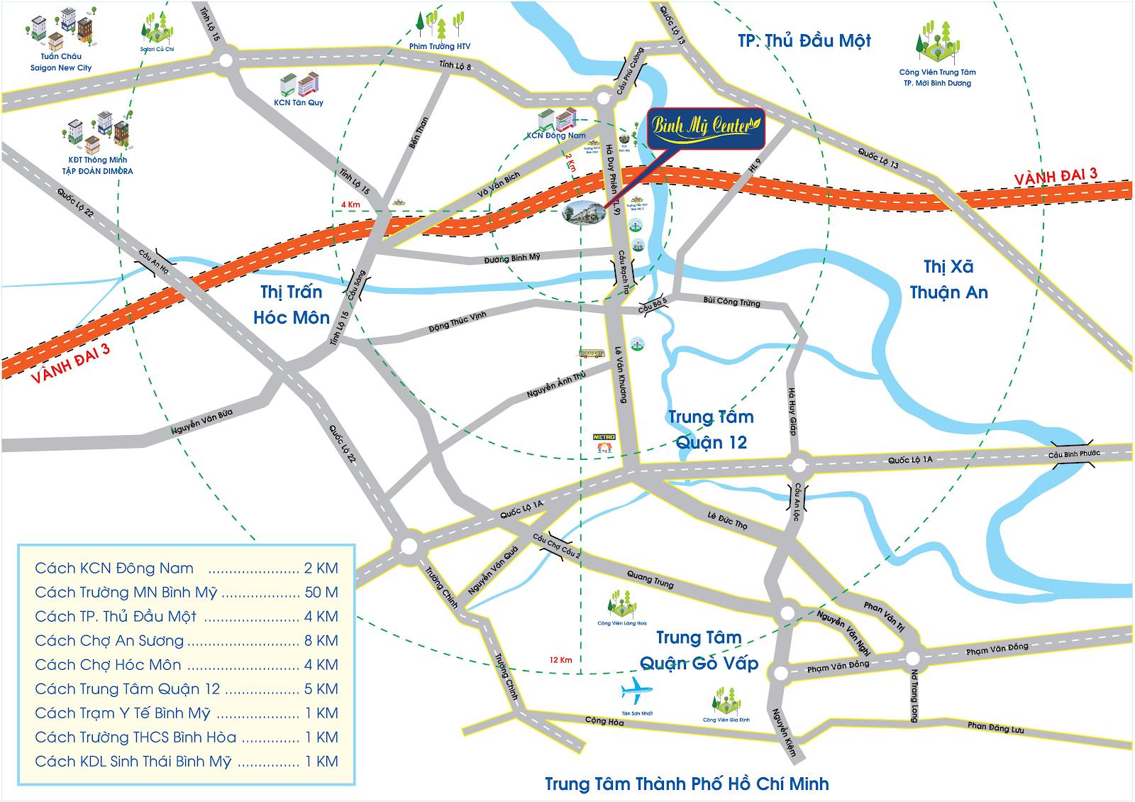 dự án đất nền huyện Củ Chi