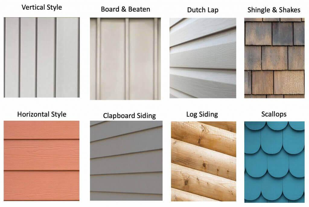 Materials and tools used in Vinyl Siding Installation