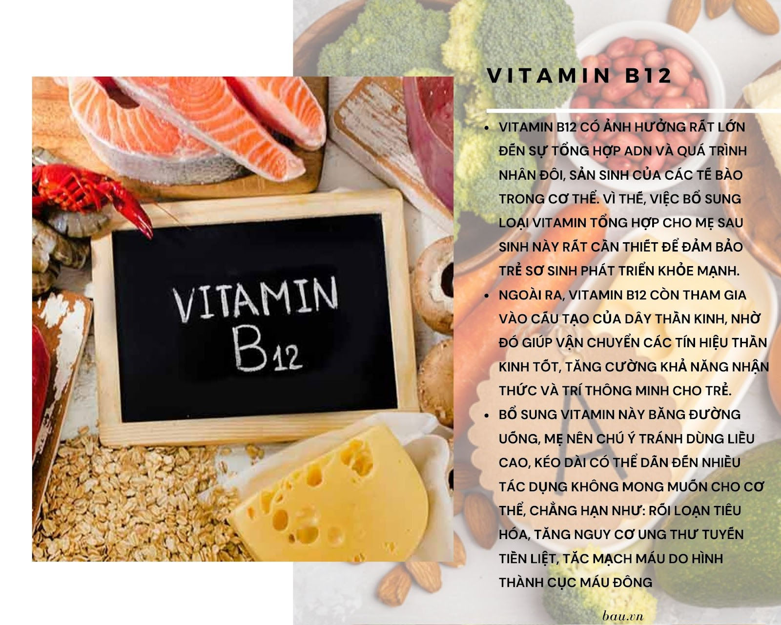 7 loại vitamin cho mẹ sau sinh đang cho con bú - ảnh 3