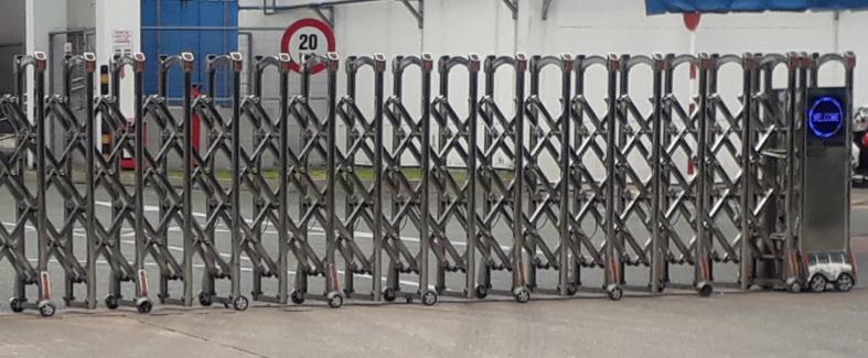Rào chắn thiết bị bảo vệ an ninh cho công ty