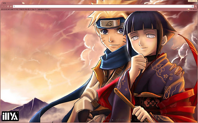 themes  7 Naruto Themes for Google Chrome