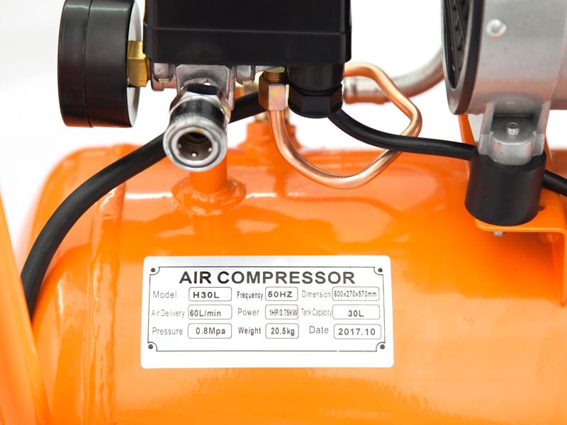 Đặc điểm máy nén khí không dầu