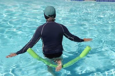 Quad Stretch back view