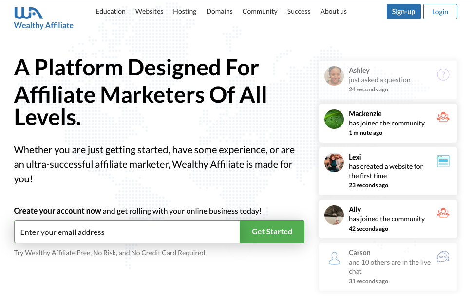6 Best Affiliate Marketer Courses wealthy affiliate