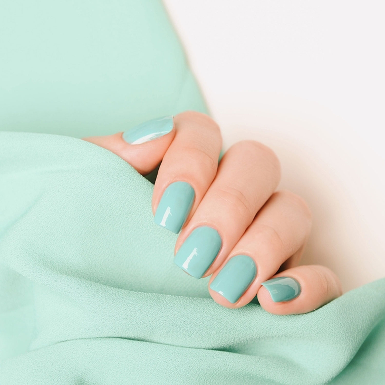 Mint Green Nail Color