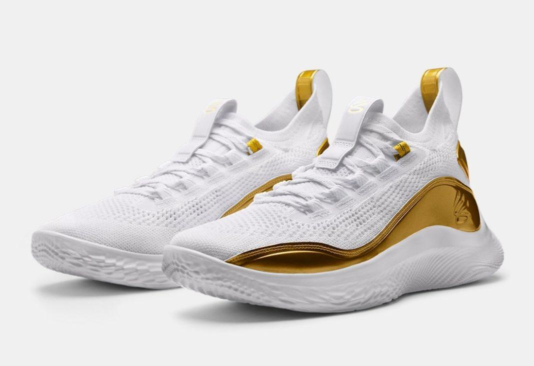 """Curry 8 Golden Flow"" รองเท้าบาสเกตบอลประจำตัวของ Stephen Curry 04"