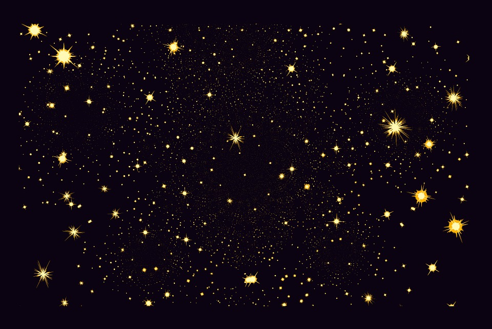Star, Sky, Graphic, Night,