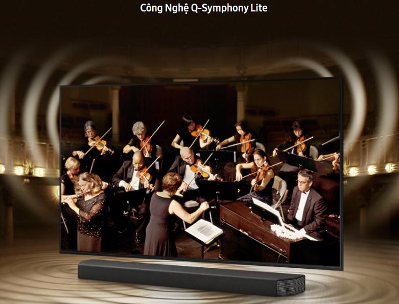 Smart Tivi Samsung 4K UHD 50 inch UA50AU8000KXXV | Công nghệ âm thanh đỉnh cao