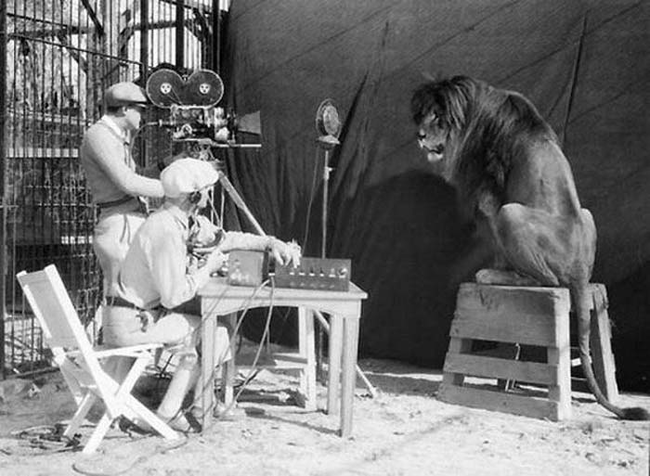 04 - FIlming the MGM lion