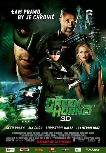 Polski plakat filmu 'The Green Hornet'