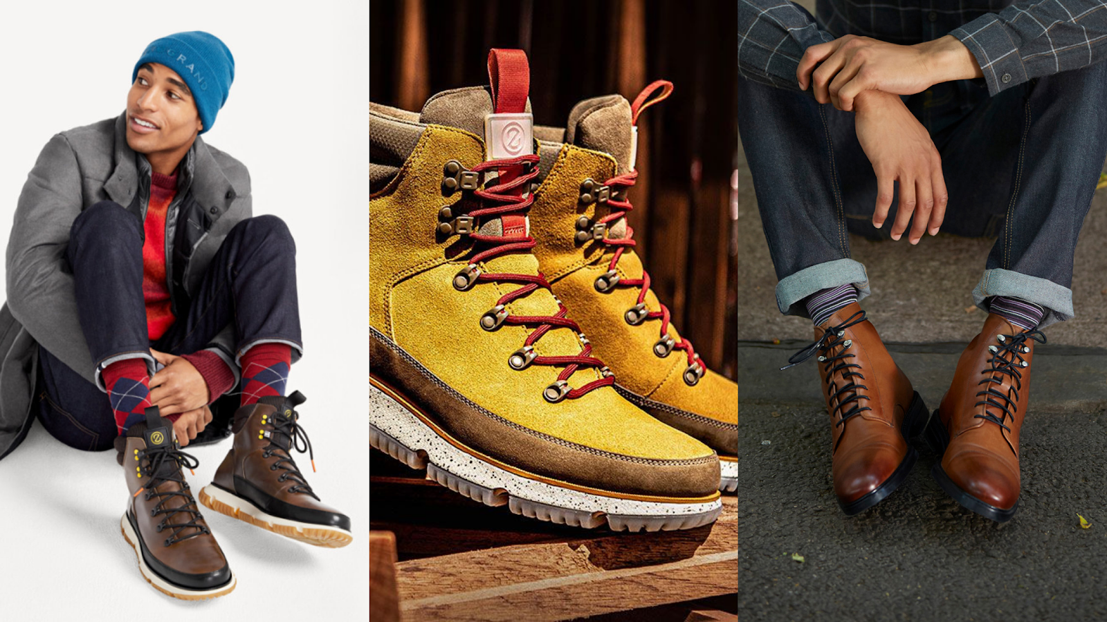men's winter fashion from Cole Haan