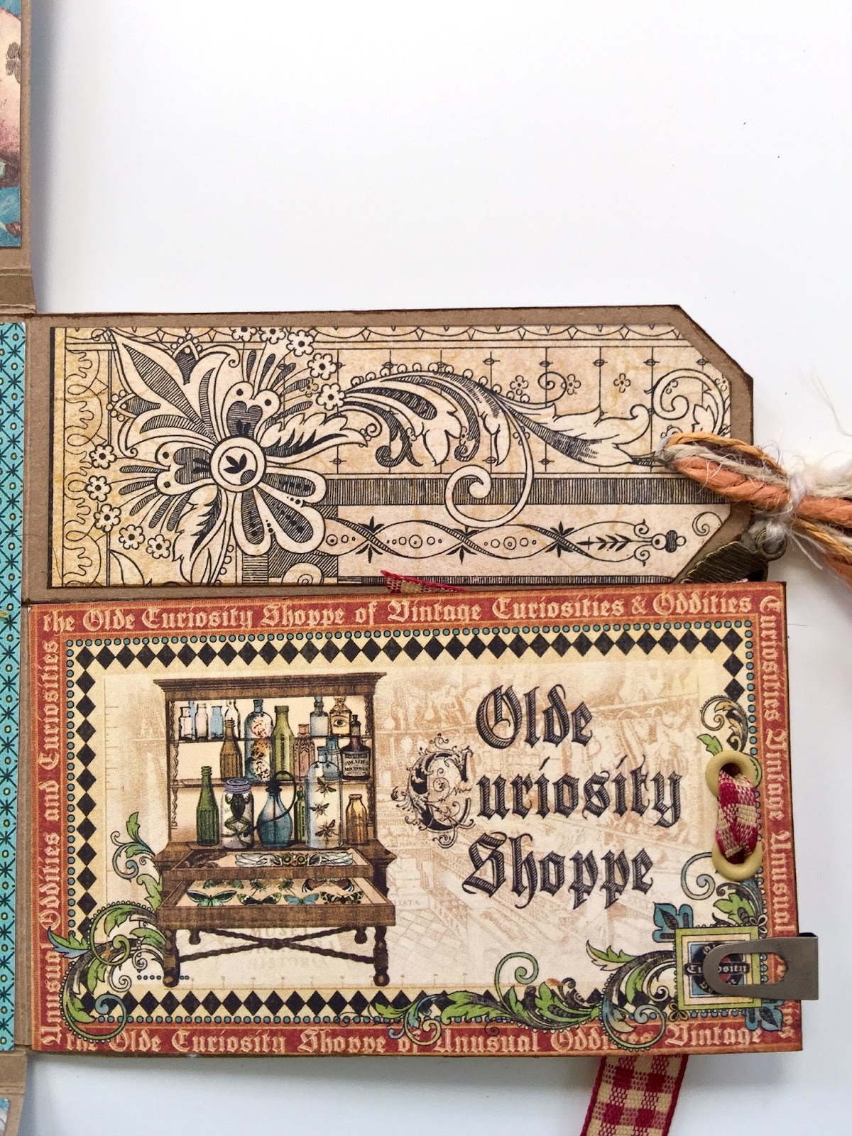 Olde Curiosity Shoppe Flip Flap Mini Album by Marina Blaukitchen Product by Graphic 45 photo 16.jpg
