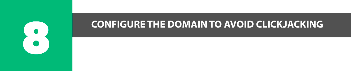 plesk security configure the domain