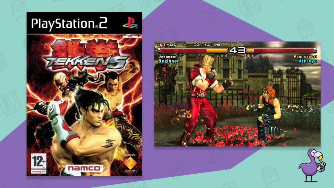 tekken 5 ps2 fighting game