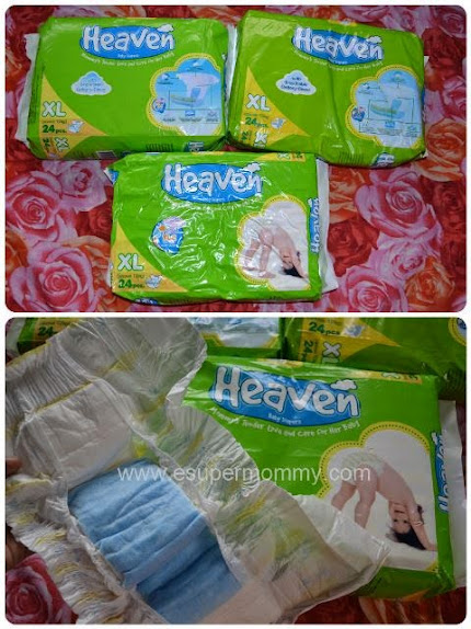 Heaven Baby Diaper's TLC and Affordability