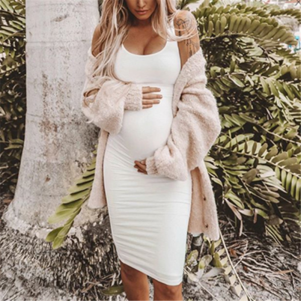 12 Cute Maternity Bodycon Dresses For Lovely Baby Bumps