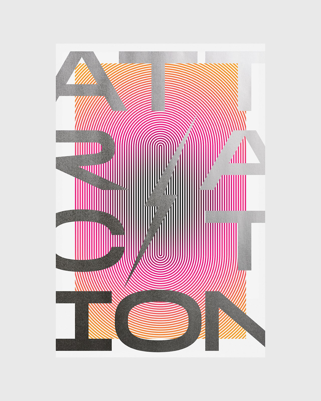 Attraction poster by Xtian Miller