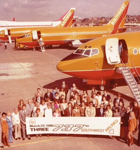 SWA ac del. Boeing 1