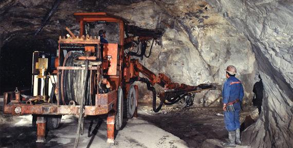 Prospecção de recursos minerais