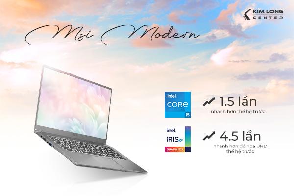 laptop msi modern 244vn