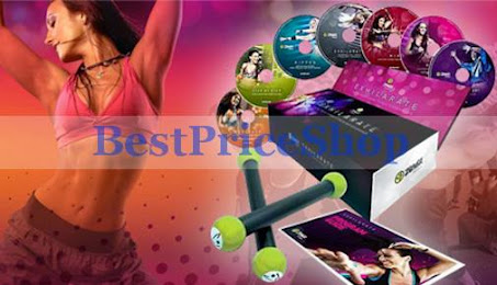 New Zumba Exhilarate Dumbbells 7 DVD (end 6/16/2019 1:58 PM)