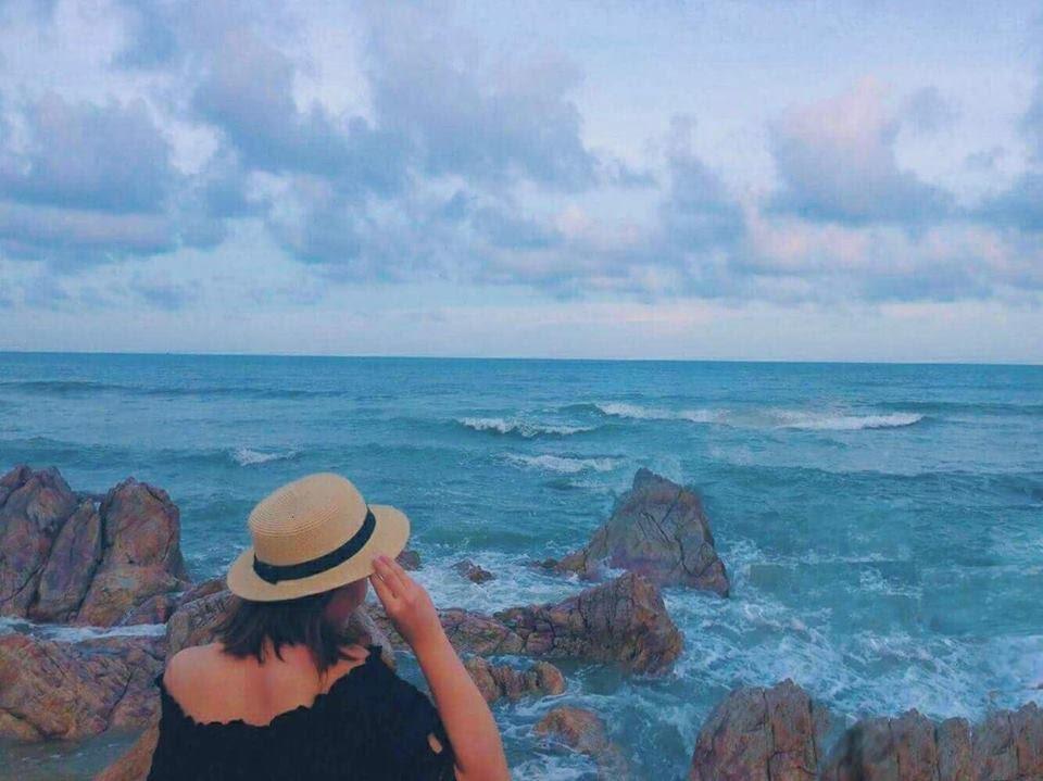 bãi biển robinso