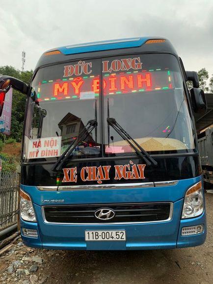 Xe Đức Long từ Hà Nội đi Cao Bằng