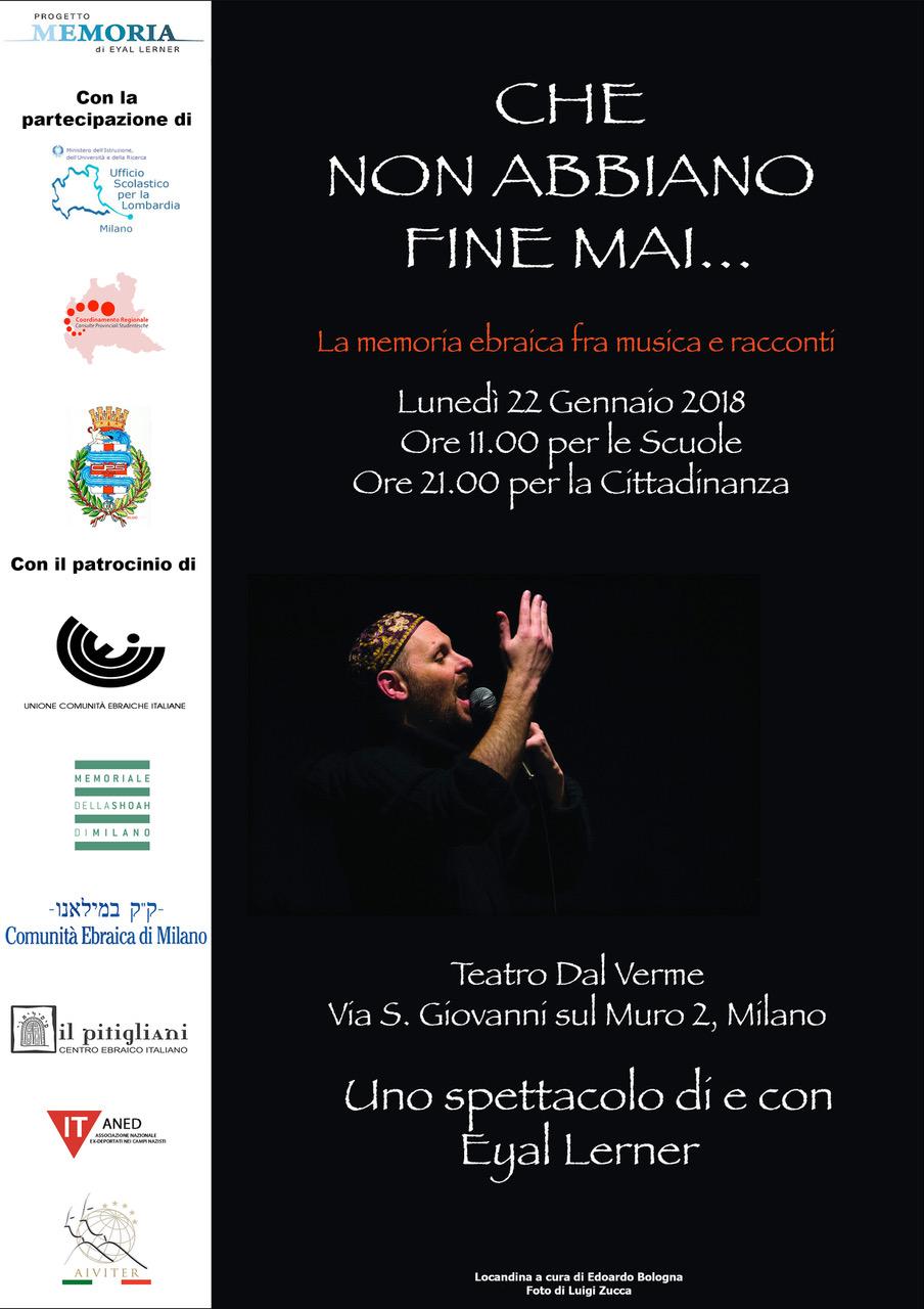 Milano, Teatro Dal Verme 21.1.18