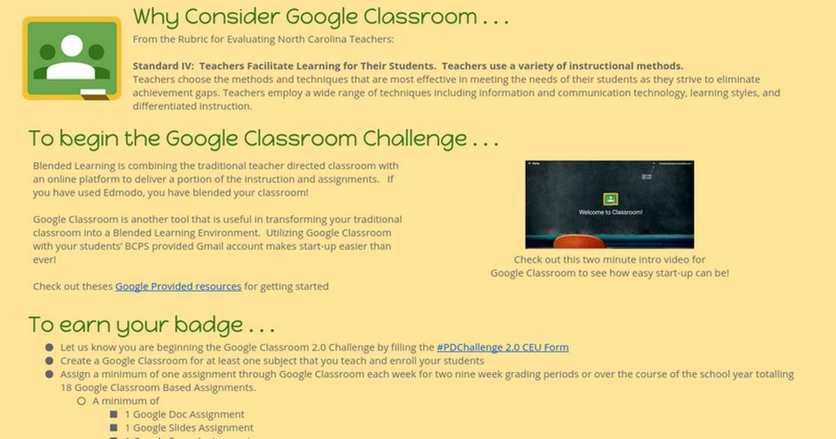 Google Classroom 20 Google Docs