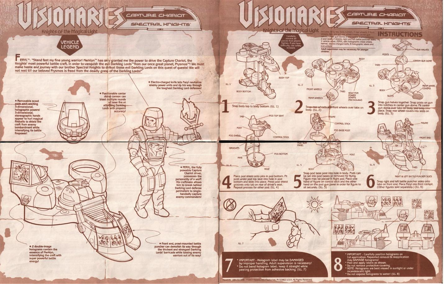 Image result for Visionaries stats card