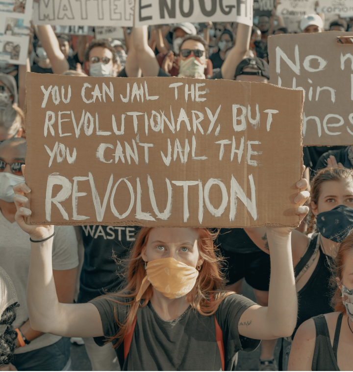 """""""You can jail the revolutioniary, but you can't jail the revolution"""""""