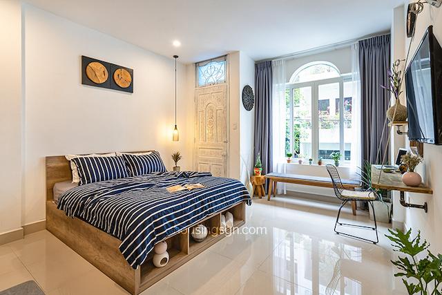Căn hộ studio tại đường Nguyễn Văn Mai được trang bị nội thất đầy đủ