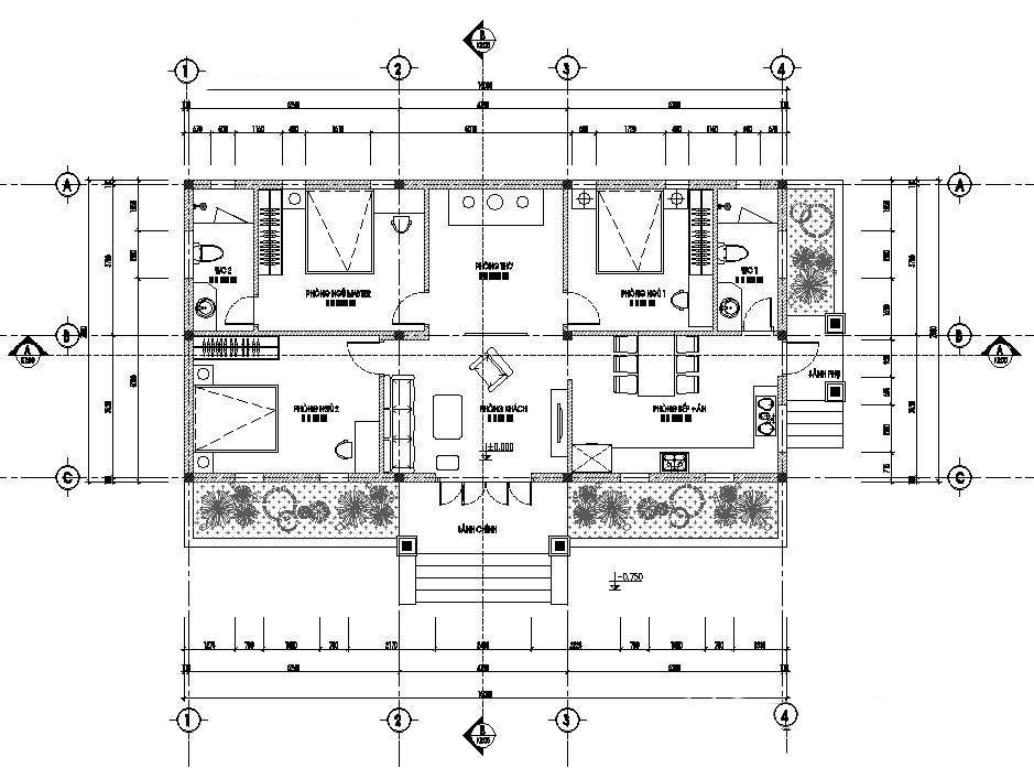 Xu hướng thiết kế nhà biệt thự sân vườn - 03