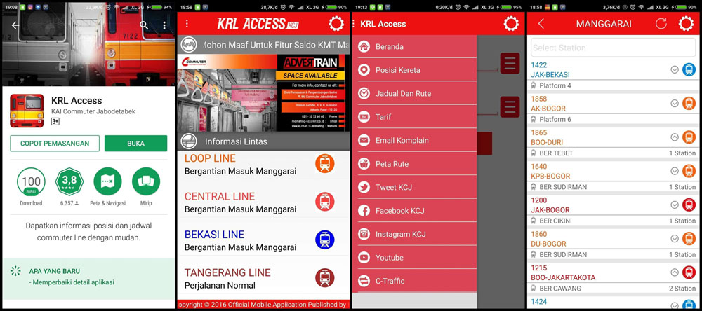 krl access public transportation apps jakarta