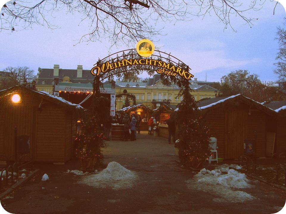 The Weihnachtsmarkt in Sofia / Немският Коледен Базар