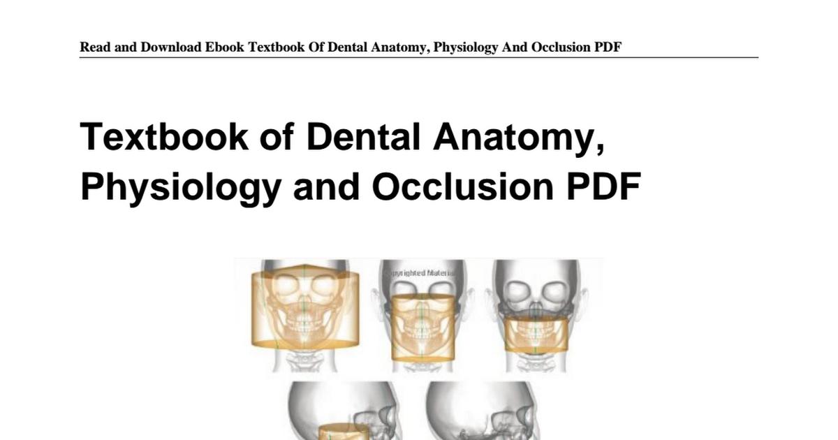 9350259400-Textbook-Dental-Anatomy-Physiology-Occlusion.pdf - Google ...