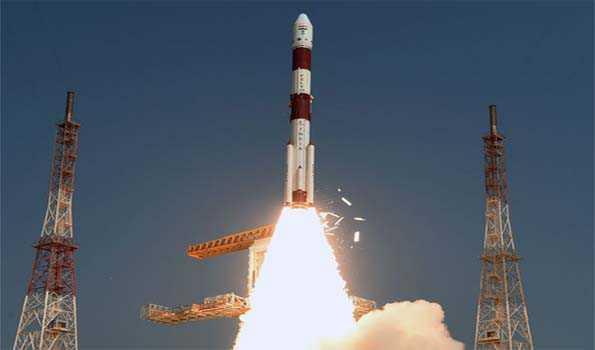 Image result for PSLV-C45 successfully launches EMISAT