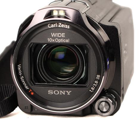 Ống kính của Sony HDR-CX760V