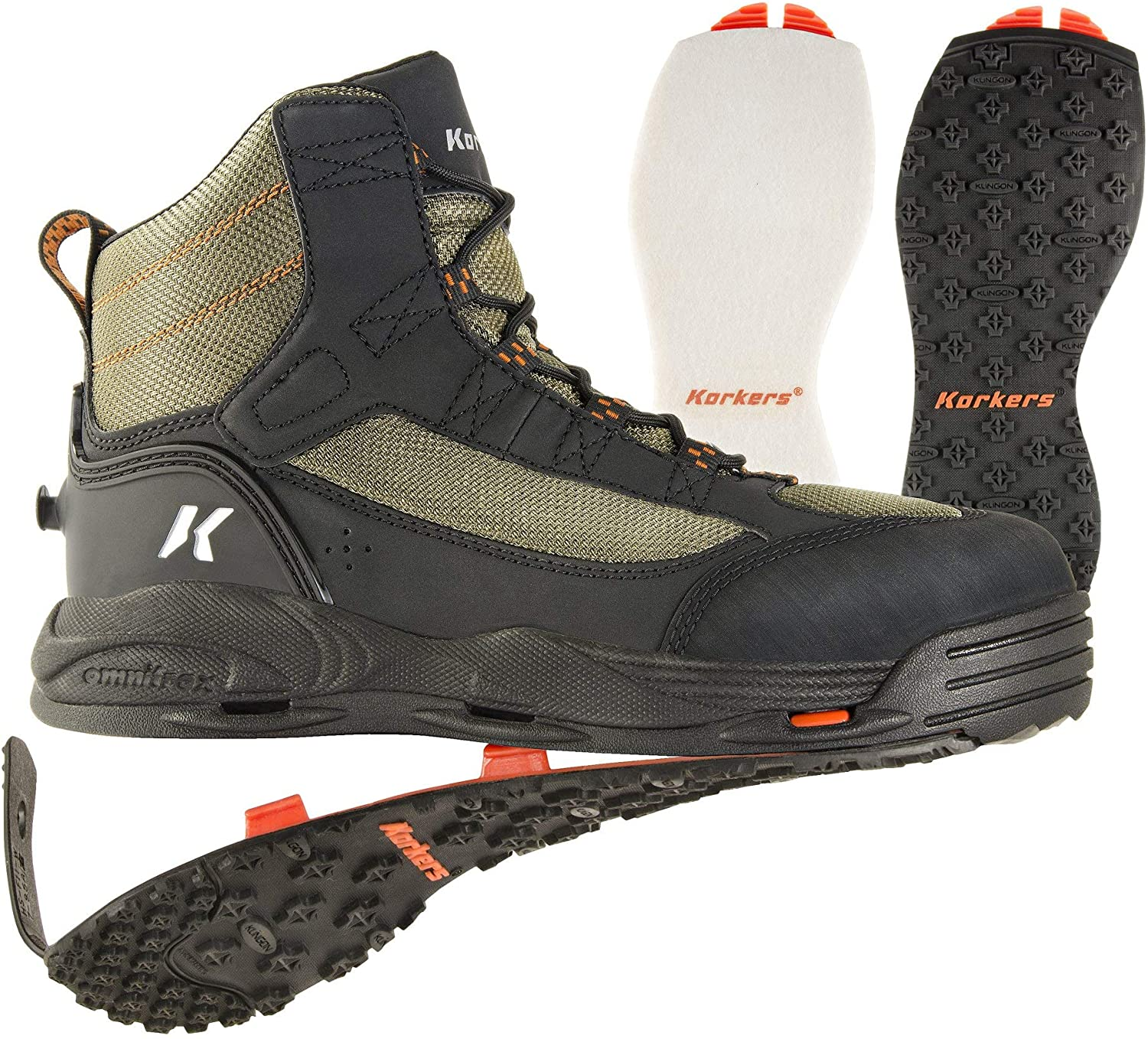 Korkers wading boots - Best Slippery Rocks Wading Boots