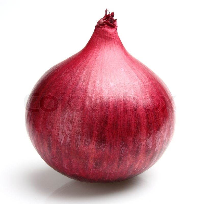 Red onion in closeup  Stock image  Colourbox