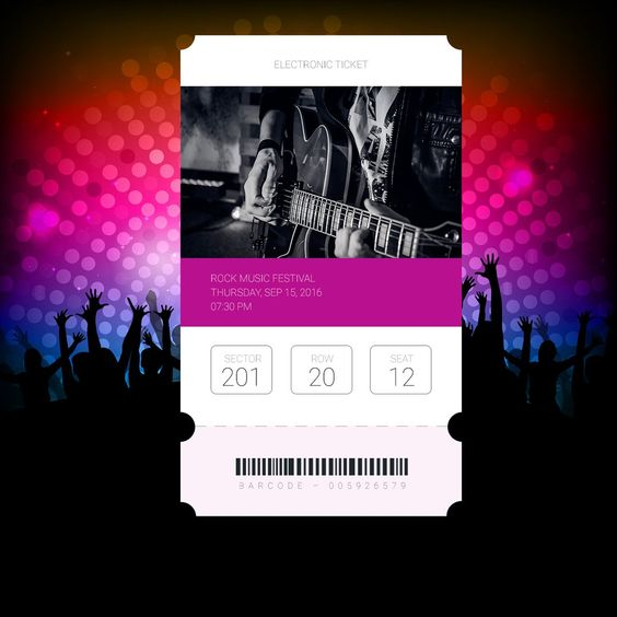 Eco-Friendly Event Planning E Ticket