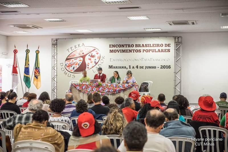 Descrição: Resultado de imagem para Encontro Brasileiro dos Movimentos Populares em Mariana: imagens